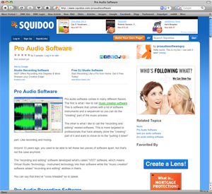 pro-audio-software-squidoo